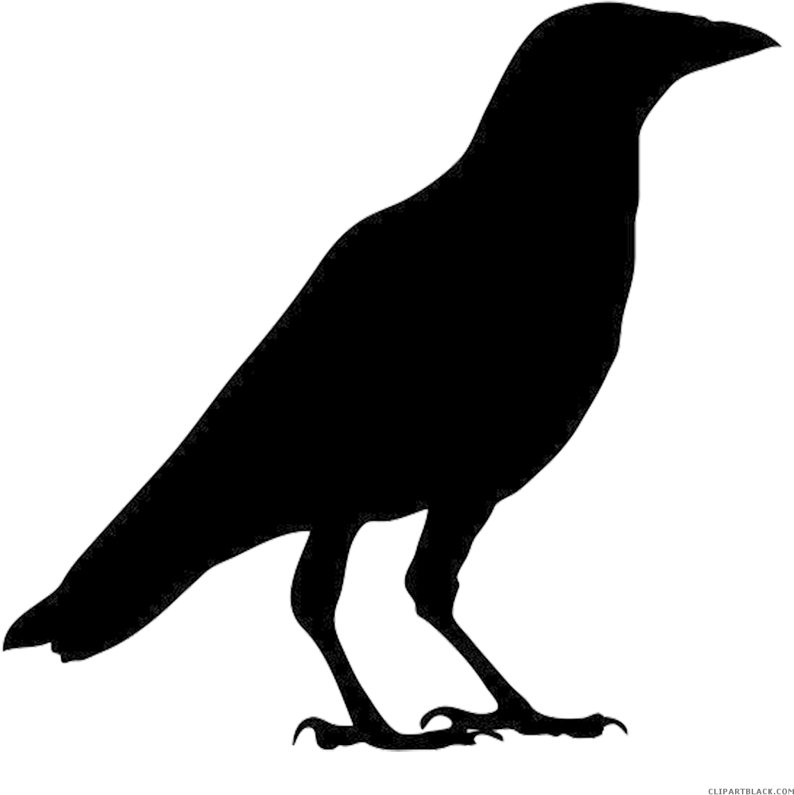 Crow Clipart Silhouette Outline Picture Of Crow.
