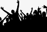 Crowd Of People Cheering Clipart & Free Clip Art Images #22870.