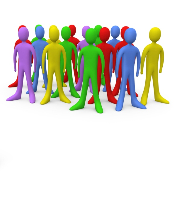 Crowd Clipart.