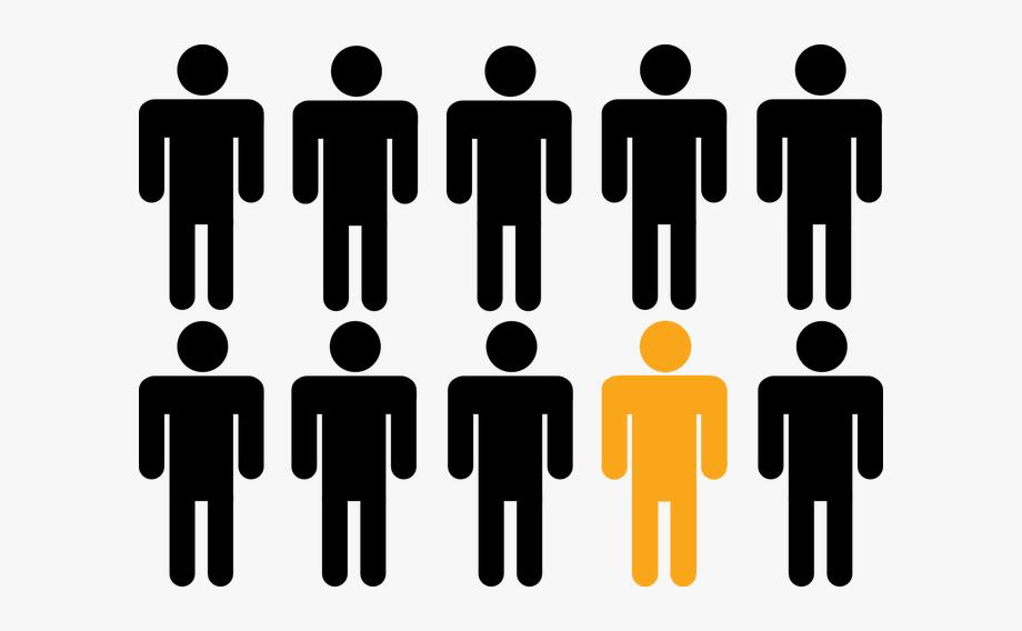 Crowd Clipart Person Icon.