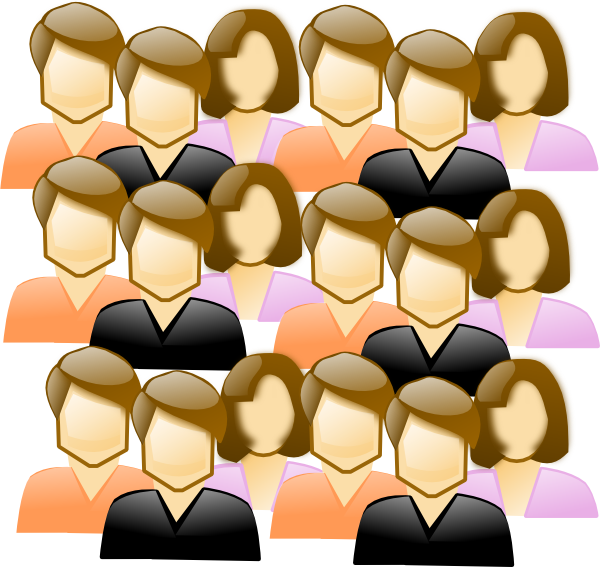 Crowd Of People Clip Art at Clker.com.