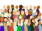 Crowds clipart free.