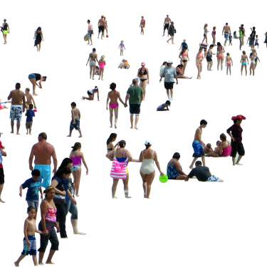 Crowd of people png 1 » PNG Image.