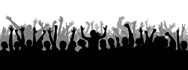 3083 Crowd free clipart.