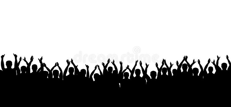 Crowd Applause Clipart.