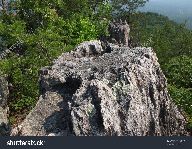 Crowders Mountain State Park North Carolina Stock Photo 53139208.