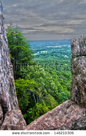 Crowders Mountain Stock Photos, Royalty.
