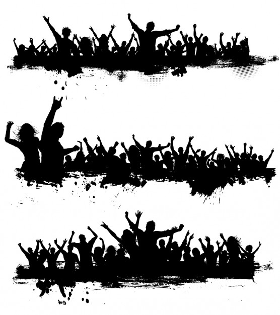 Crowd Vectors, Photos and PSD files.