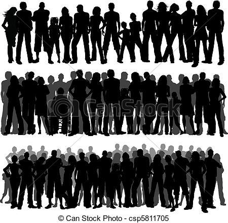 Crowds Vector Clipart Illustrations. 22,397 Crowds clip art vector.