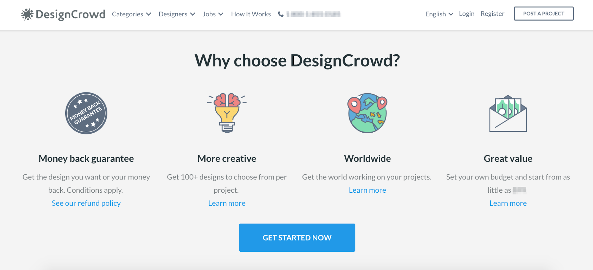 Crowdsourced Logos.