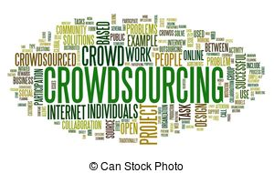 Crowdsourcing Clipart and Stock Illustrations. 393 Crowdsourcing.