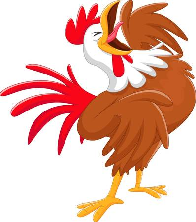 973 Rooster Crowing Stock Illustrations, Cliparts And Royalty Free.