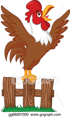 Rooster Crowing Clipart (104+ images in Collection) Page 2.