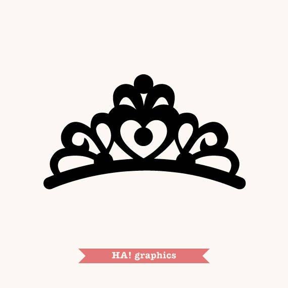 Crown, Tiara, Princess, Queen, King, Prince, Silhouette.