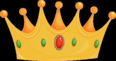 King cap clipart.