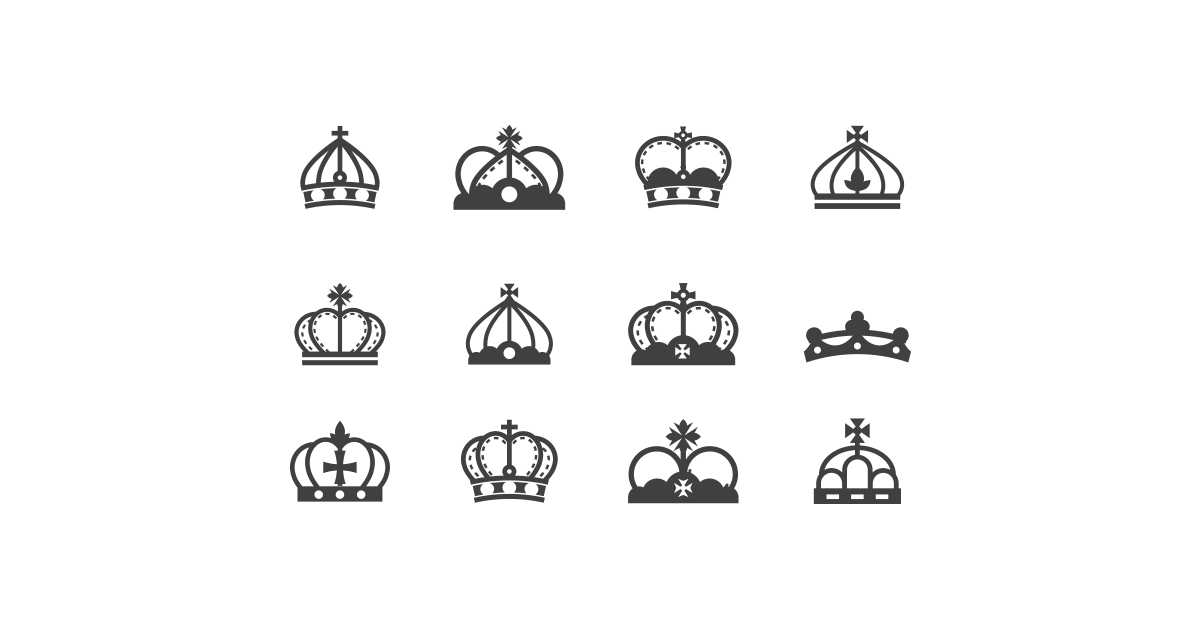 Crown Silhouette.