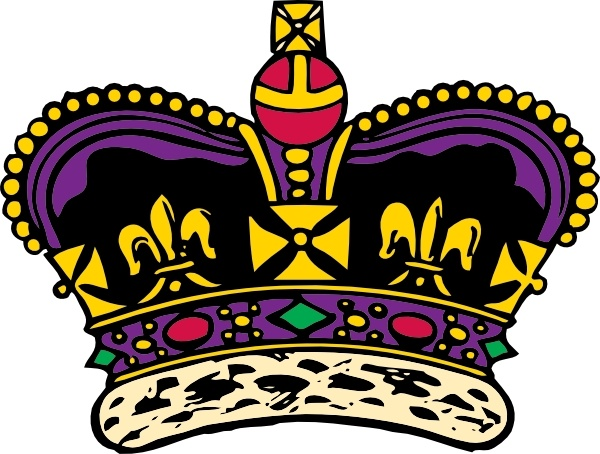 Clothing King Crown clip art Free vector in Open office drawing svg.
