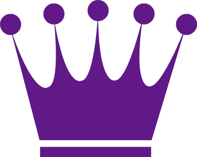 Crown Clipart Black And White Vector.