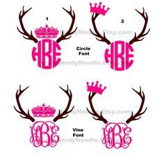 Cute Princess Crown Car Decal Pink Girly Clipart.