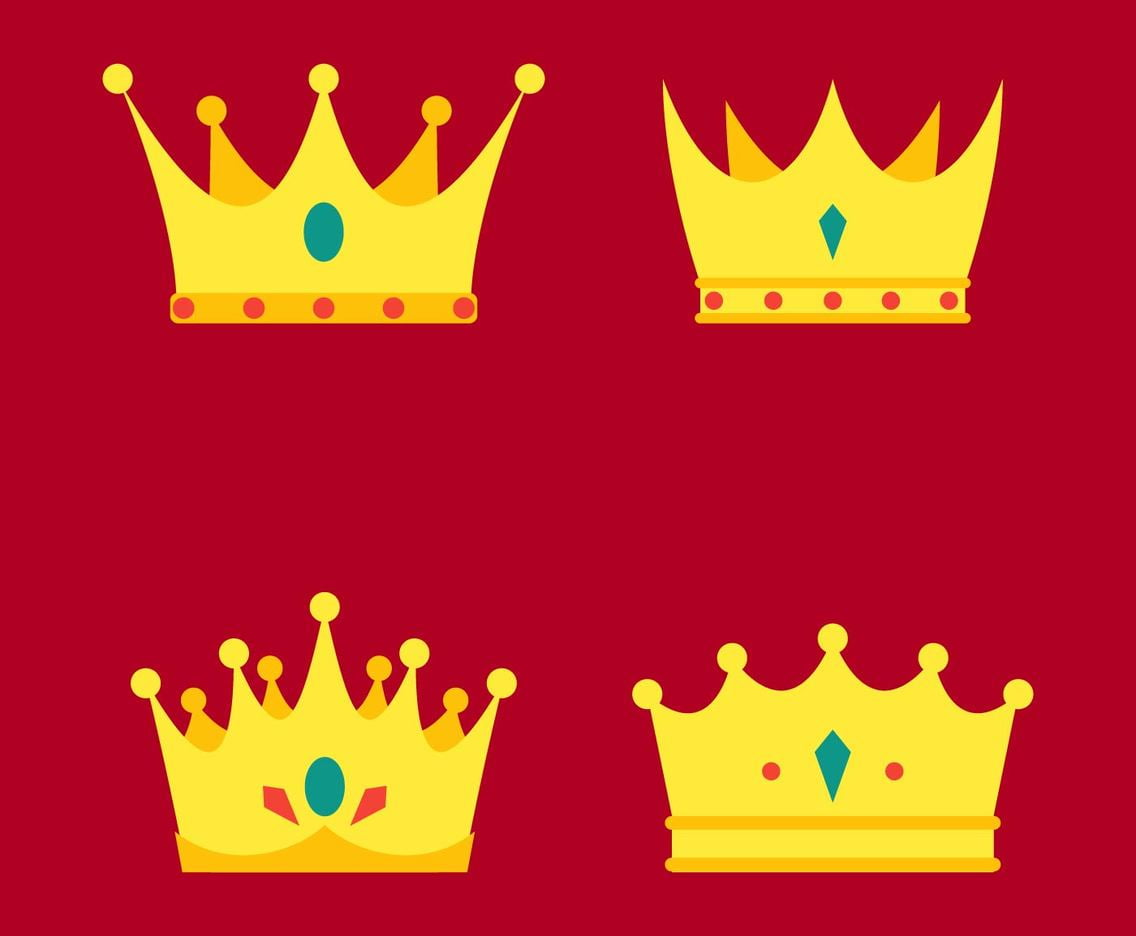Outstanding Crown Clipart eps, svg, ai file.
