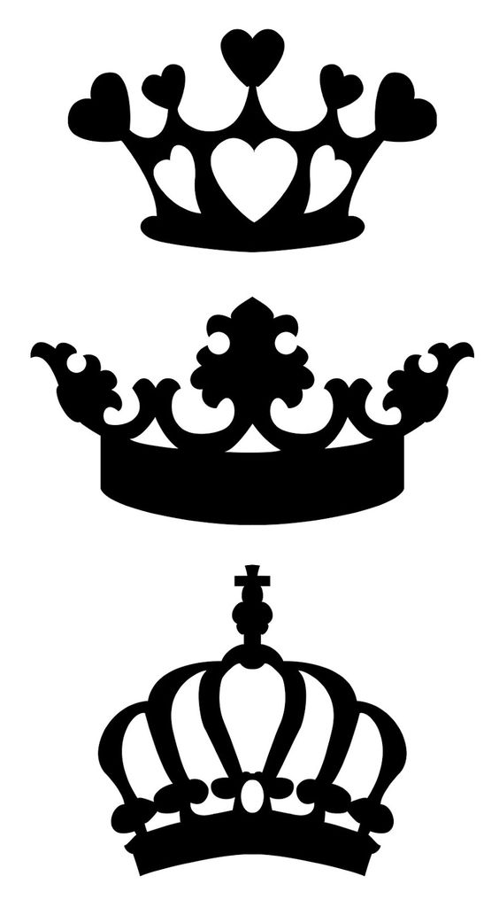 Free svg files of crowns:.
