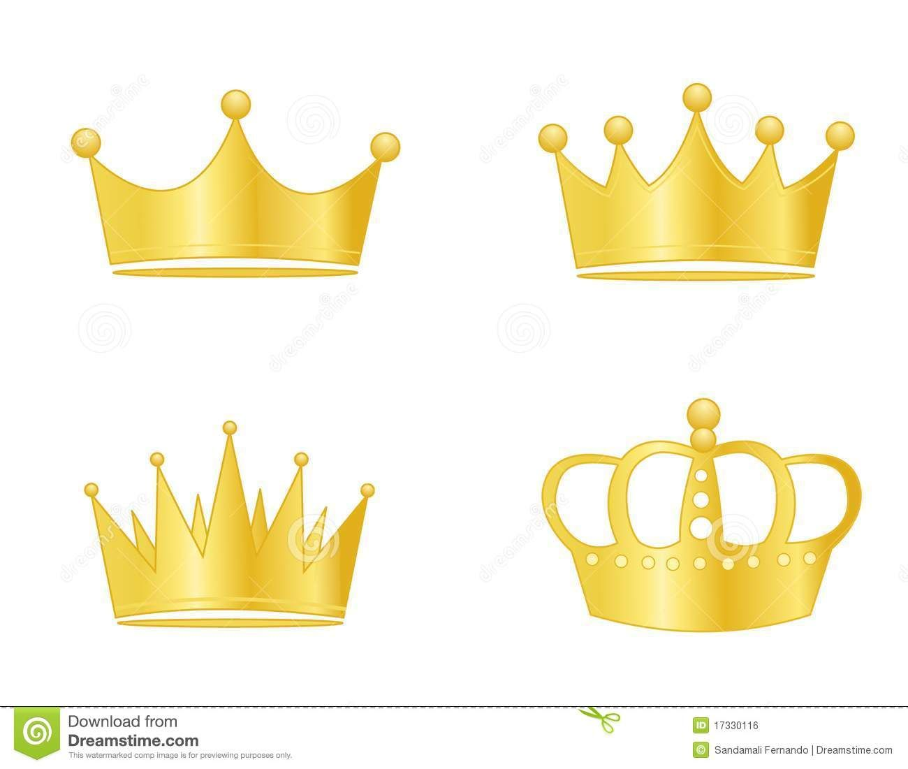 Images For > Gold Crown Clipart.
