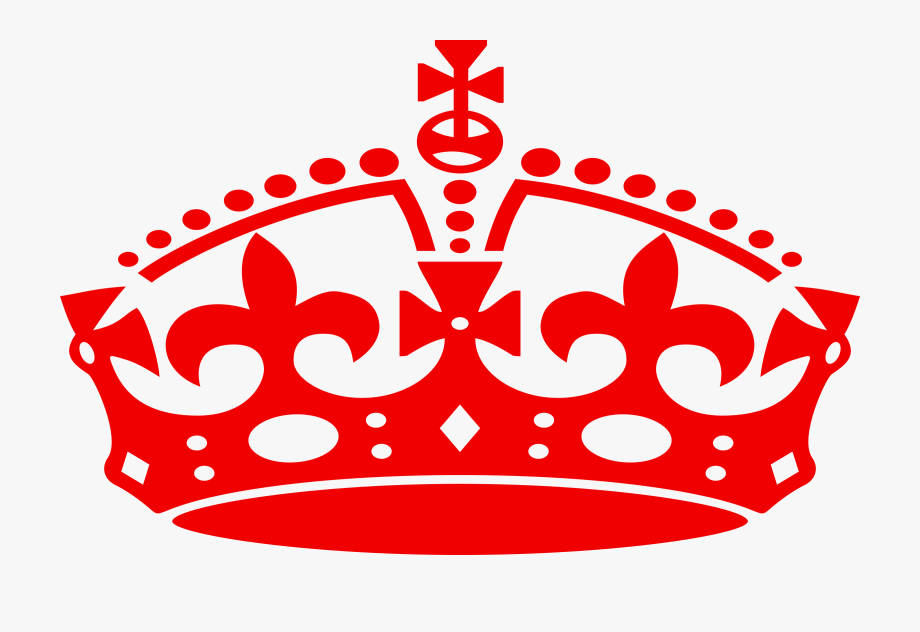 Crown Clipart Red.