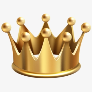 Gold King Crown Png.