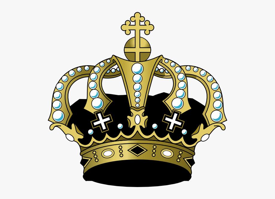 Black Crown Clip Art.