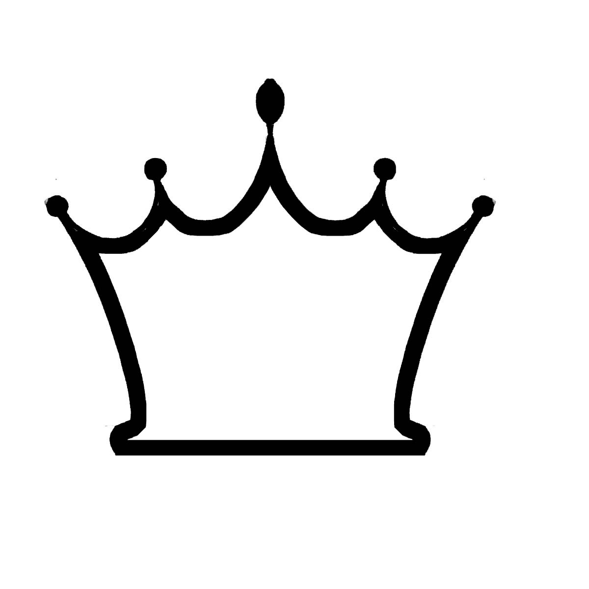 Free Crown Outline Template, Download Free Clip Art, Free.