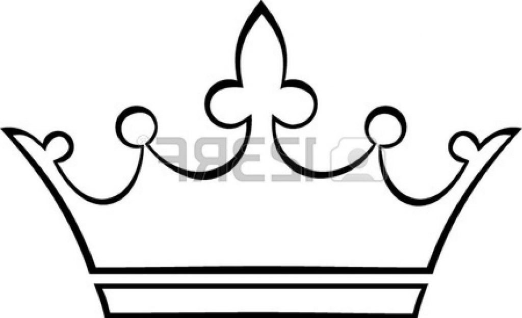 Crown Clipart Outline.