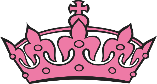Pink Princess Crowns Logo.