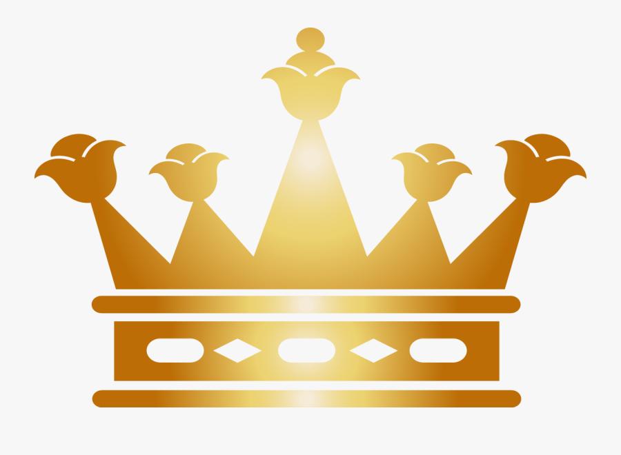 Transparent 3 Point Crown Clipart.