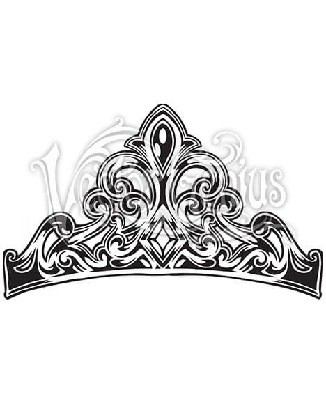 Vector Princess Crown ClipArt.