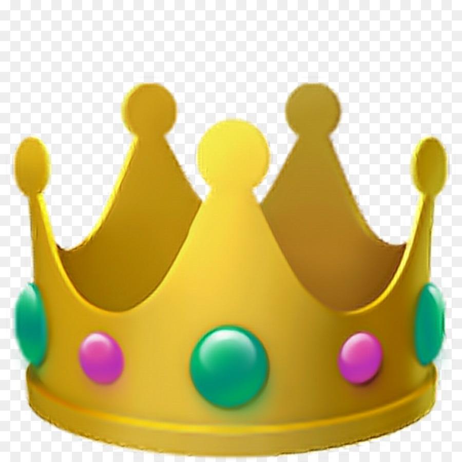 Crown Emoji Clipart.