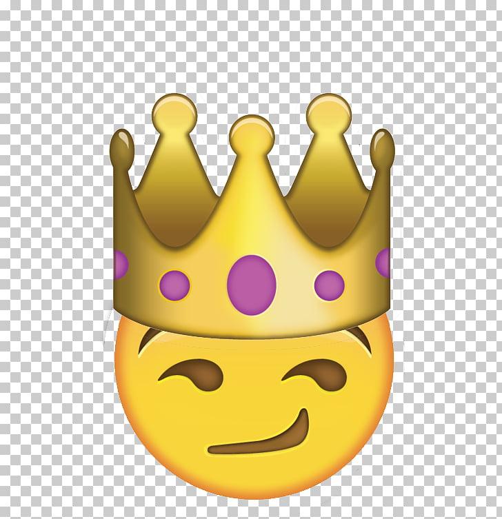 Art Emoji Sticker Emoji domain Crown, Emoji PNG clipart.