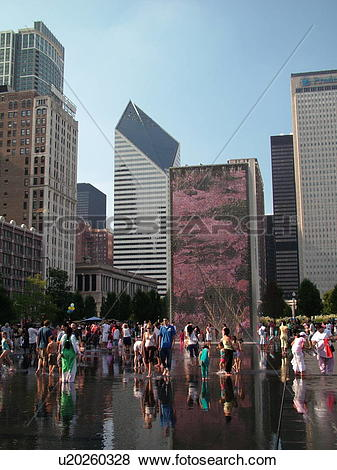 Pictures of Chicago, IL, Illinois, Windy City, Downtown.