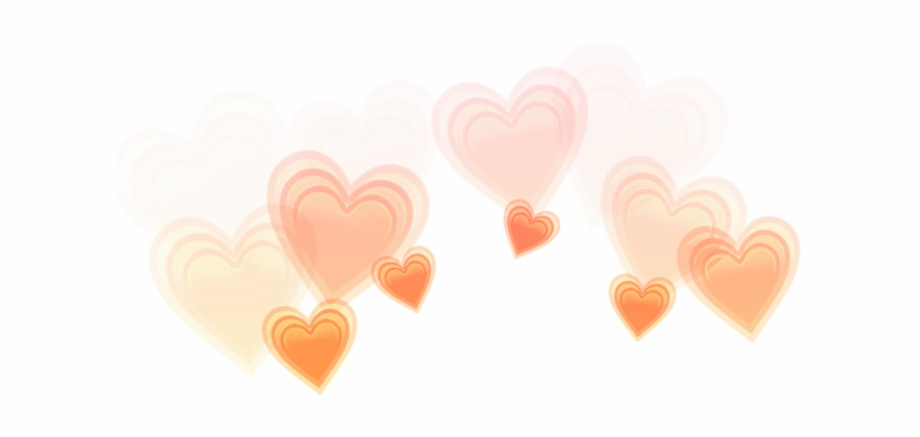 Orange Orangehearts Hearts Heartcrown Crown Heart Orange.