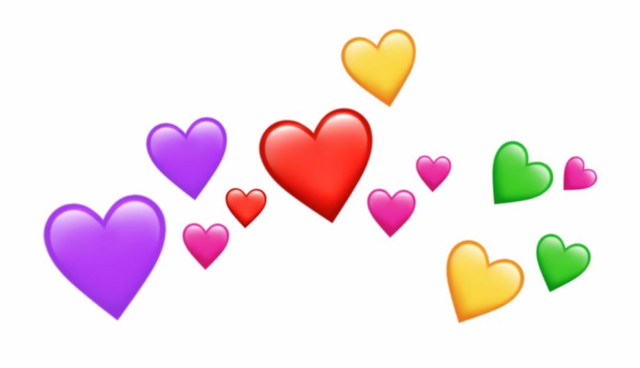 freetoedit#emoji #emojis #heart #crown #hearts.