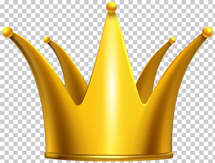 Crown , Golden Crown , gold crown illustration PNG clipart.