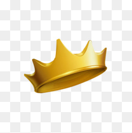 Gold Crown PNG Images.
