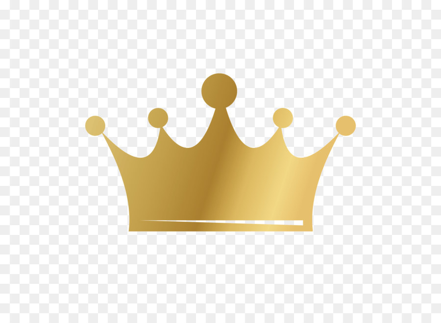 Gold Princess Crown png download.