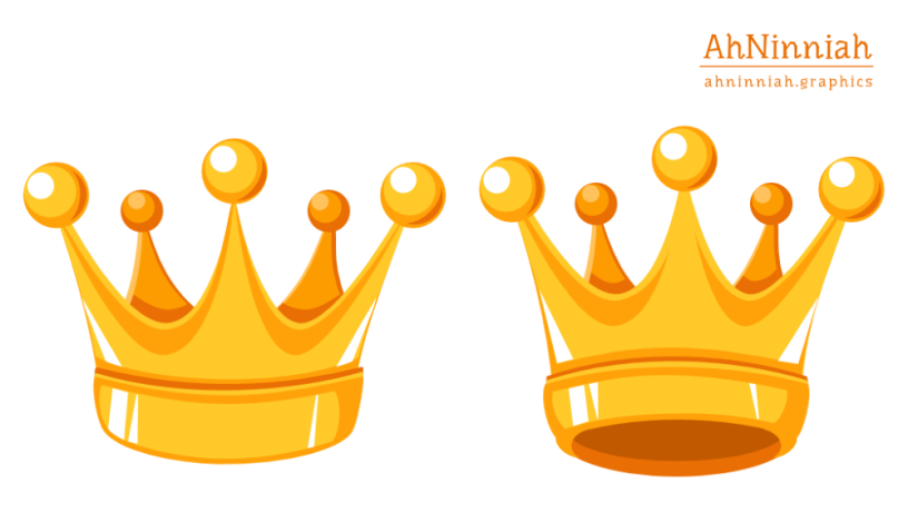 Drawing a vector crown.