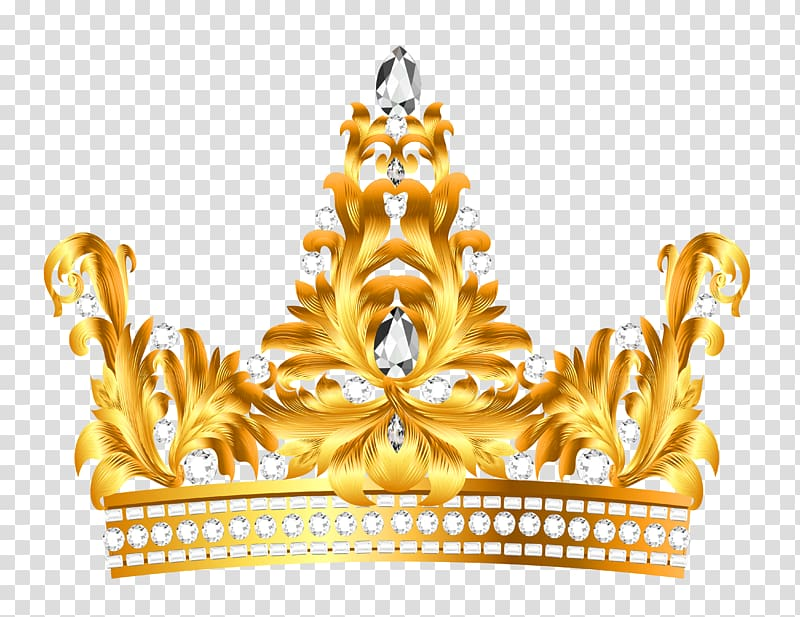 Crown , Gold and Diamonds Crown , gold crown transparent background.