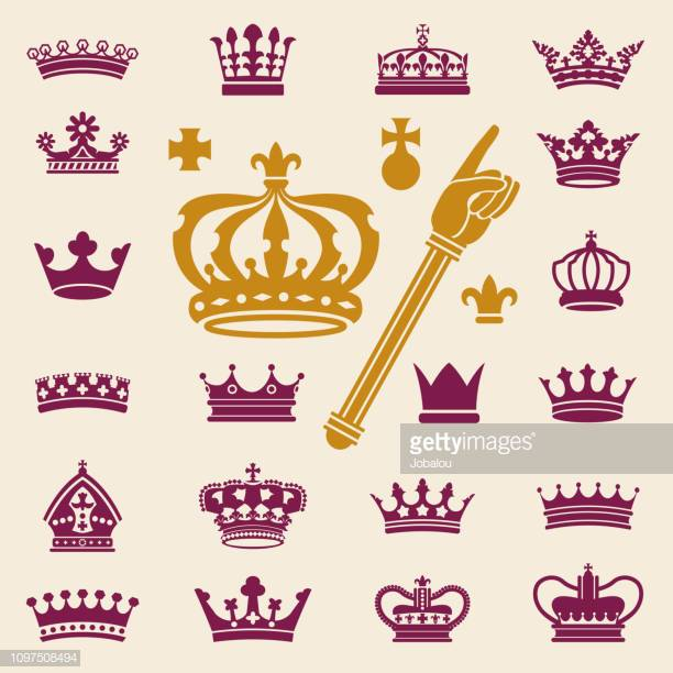 44 Scepter Silhouette Stock Illustrations, Clip art, Cartoons.