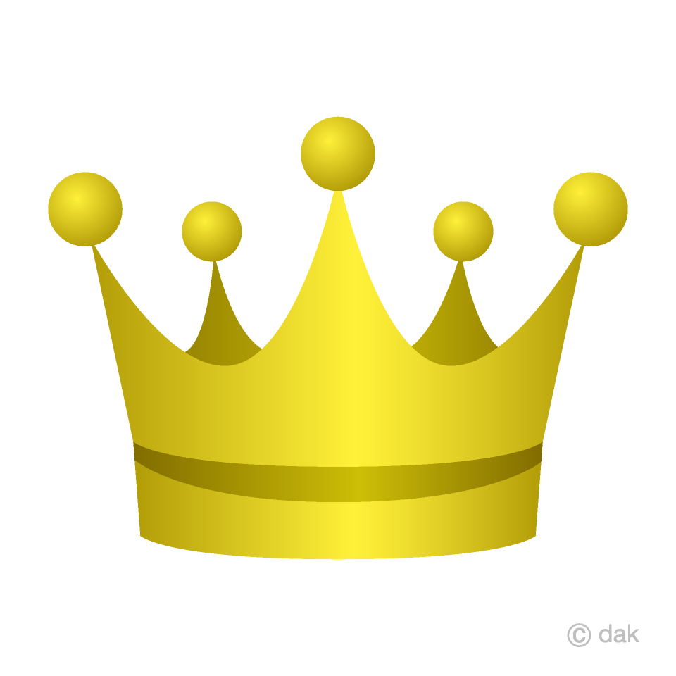 Gold Crown Clipart Free Picture|Illustoon.