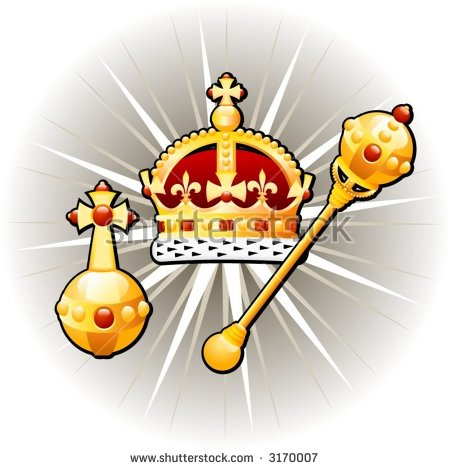 Royal Scepter Stock Images, Royalty.