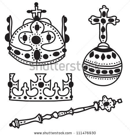 Set Of Crown Jewels.