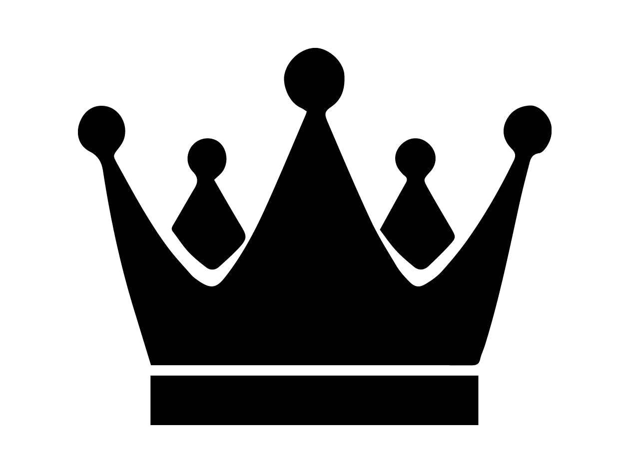 Crown King Silhouette Clipart Throughout Transparent Png.