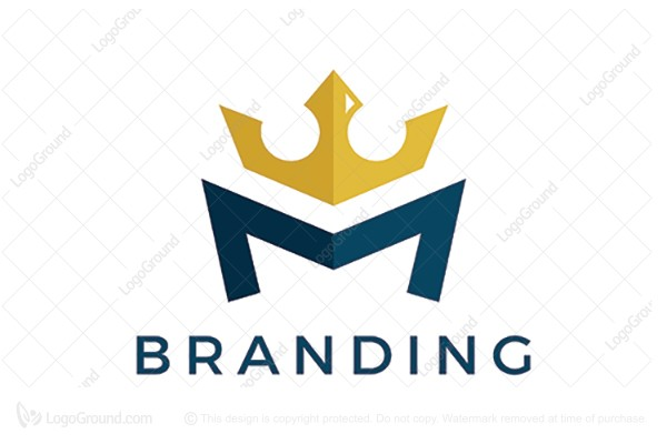 Exclusive Logo 149823, M Crown Logo.